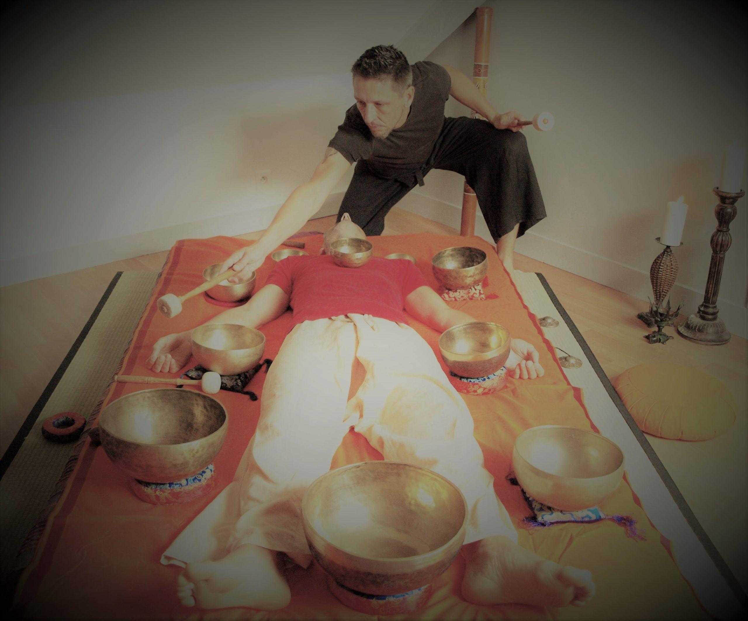 Massage Yoga bols tibétains