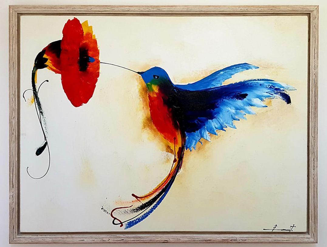 Accueil par un colibri : faire sa part et partager