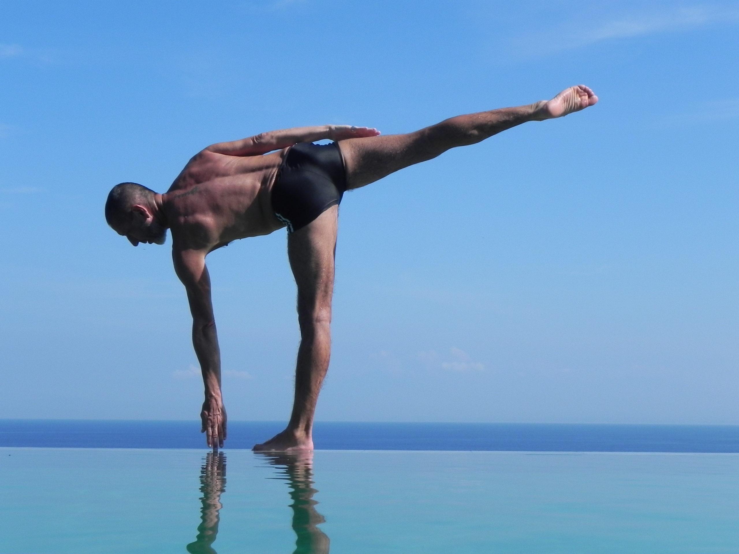 Hatha Yoga nature Bord de mer