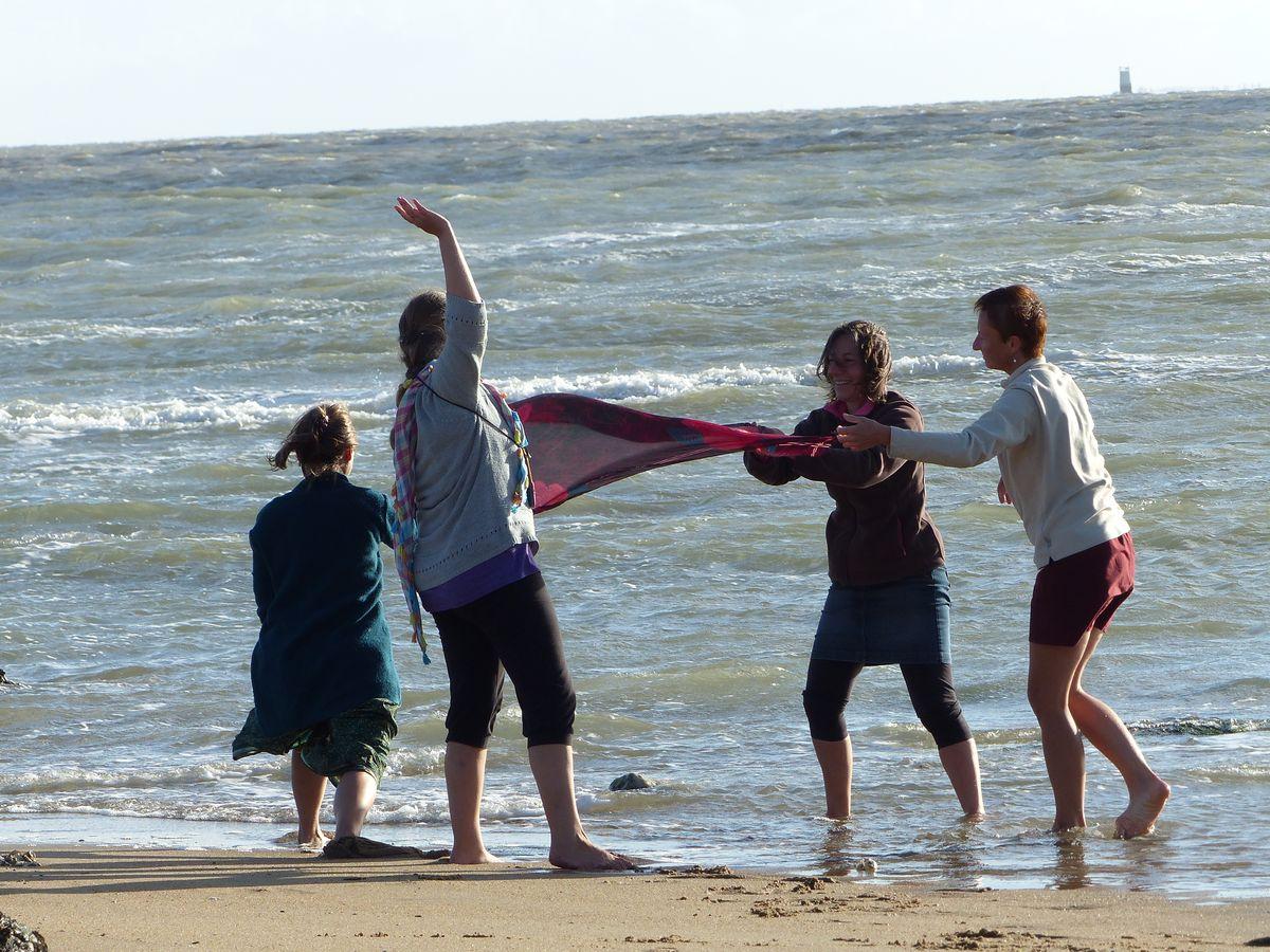 Danse avec le vent Fédération Française de Yoga
